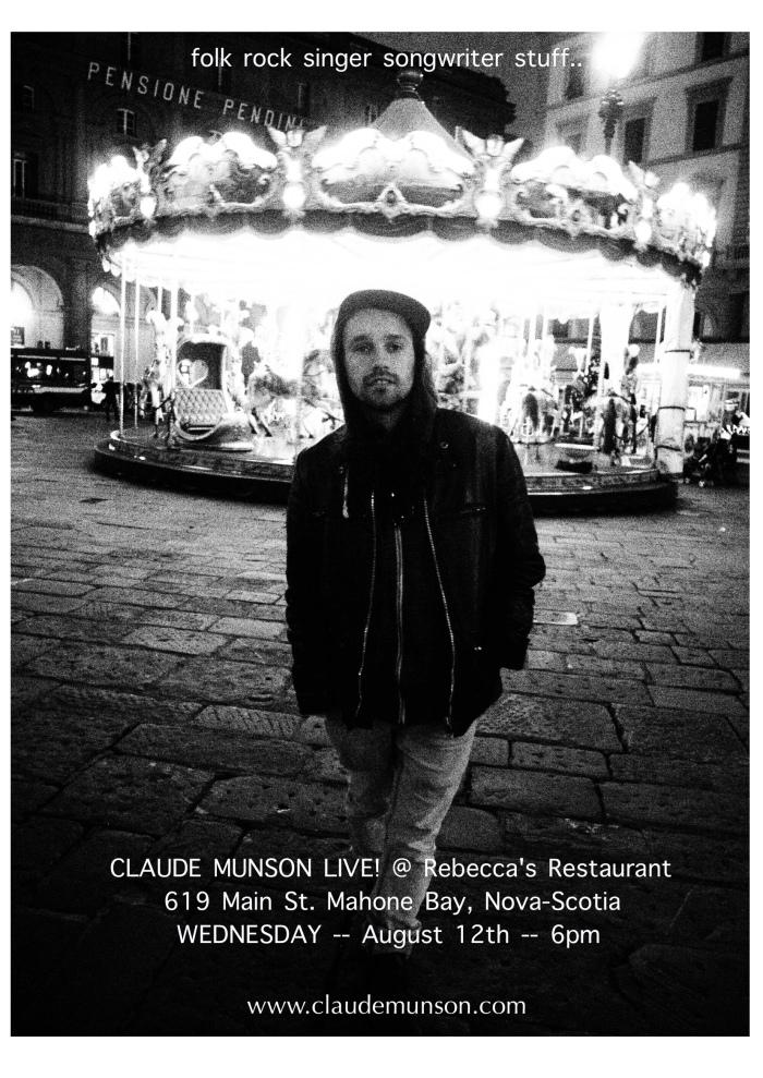 Claude Munson poster rebeccas